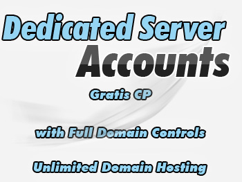 Cheap dedicated servers hosting accounts