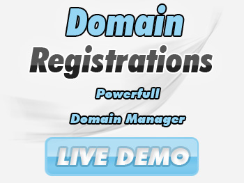 Low-cost domain name registration